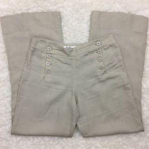 Max Studio | Wide Leg Sailor Pants